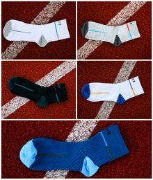 Wholesale Men Body Warmer - 5 Style Men Boy Warm Football Socks Basketball Sports Mens Athletic Socks Cotton Anti Slip Cycling Climbing Running Socks G509S