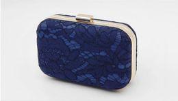 Wholesale Grace Boxes - New women Casual Clutch box form grace fashion pure color PU hasp one shoulder aslant mobile party Evening bag 50