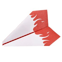 diy toy plane Coupons - 1 Set Electric Motor Paper Airplane Model DIY Power Up Flying Plane Kids Toys 328 Promotion %312