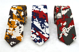 Wholesale ms tie - Ms 5 cm of male students to marry the groom's best man leisure fashion han edition cotton and linen narrow tie abstract patterns