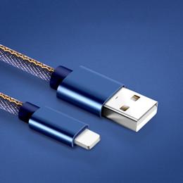 Микро оплетки продажа онлайн-Micro USB кабель 2a прочный нейлон плетеный высокоскоростной зарядки USB Type-C кабель 1.2 м для Android смартфон Samsung S9 i6 i7 i8 горячей продажи