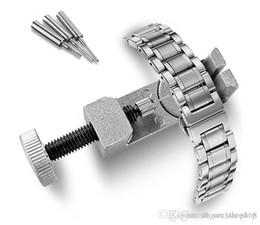 Bracelets de bande de métal en Ligne-Nouveau métal réglable montre bande bracelet bracelet lien broche Remover Repair Tool Kits