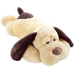 3a5c19be6ab JUMBO Soft Lying Dog Plush Toy Giant Animal Dogs Doll Sleeping Pillow Hug  Bear Cushion Decoration 180cm 71inch DY50438