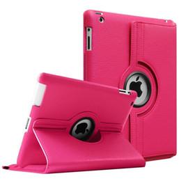 Étui en cuir pour apple ipad en Ligne-Pour le nouvel iPad 2018 Pro 11 9.7 10.5 360 degrés rotation housse en cuir pour iPad Air2 Mini 2/3/4