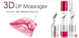 Wholesale Light Therapy Pen - LP001 3D Multifunctional Lip Massager Lips Moisturizing Care Tool Iontophoresis Cleaner UV Sterilizat on Lips Plumper Pen Lip lift Care