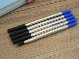 5pc blu Parker office Scrittura scuola metallo inchiostro 0.7mm penna Roller Ricariche da coloranti d'acqua fornitori