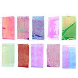Weihnachten 3D Holo Sternenhimmel Glitter Folien-Nagel-Kunst-Spiegel-Aufkleber Glitter Stencil Aufkleber DIY Maniküre Design Tools Blume von Fabrikanten