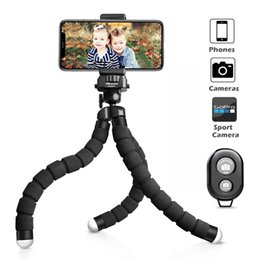 Wholesale Premium Wireless - Premium Phone Tripod, Flexible Tripod with Wireless Remote Shutter for iPhone & Android Camera and GoPro (Upgraded)