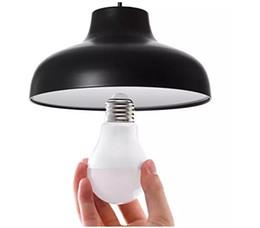 Globo led lâmpada a19 on-line-Dimmable A19 A60 Edison Parafuso Luzes LED Bulbo 3 W 5 W 7 W 9 W 12 W Lâmpada de Bulbo Do Globo Do DIODO EMISSOR de LUZ E26 / E27 Iluminação AC85-265V LLFA