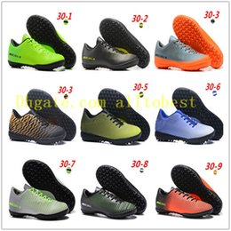 Wholesale Footbal Boots - Top Quality Kids Mercurial Superfly FG CR7 Magista Obra Soccer Shoes Cristiano Ronaldo Cleats Neymar Footbal Shoes Cheapest Soccer Boots