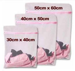 Wholesale Net Wash Bags Wholesale - S M L Clothes Washing Machine Laundry Bra Aid Lingerie Mesh Net Wash Bag Pouch Basket
