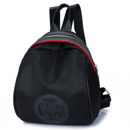 Großhandel-neue reisende rucksack Marke frauen rucksack rucksack nylon oxford tuch persönlichkeit umhängetasche doppelt verwendbare weibliche umhängetasche von Fabrikanten