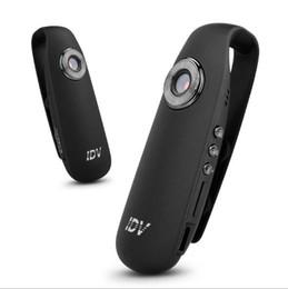 IDV007 Petite Voiture DVR Cam Full HD 1080 P 720 P DV Vidéo Résolution Micro Portable Wearable Mini Caméra feutre pad ? partir de fabricateur