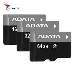 Wholesale 16gb Tf Cards - 100% real ADATA 4GB 8GB 16GB Micro SD Card SDXC USH-1 Class10 TF Card Micro SD Card+ SD Adapter with retail package free shipping