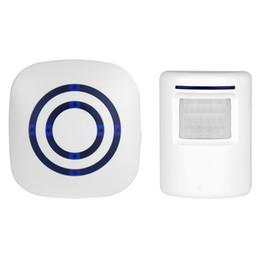 3be05c4aea0 Digital Wireless Doorbell Welcome Body Door Bell with PIR Sensor Infrared  Detector Induction Alarm Home Security 30PCS LOT digital wireless doorbells  for ...