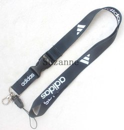 Wholesale ids clothing - Wholesale Clothing brand logo Cell Phone Straps neck Lanyard ID Badge Holders Mobile Neck Key chain