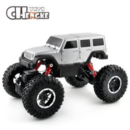 Wholesale High Speed Motors - RC Vehicles 2.4G 4WD High Speed SUV RC Car Toy Car Motors Drive Remote Car High Speed Racing Climbing Remote