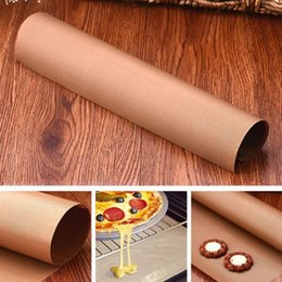 Wholesale silicone microwave oven mat - 60*40cm Cookies Baking Mat Teflon Fabric Paper Oven Tray Non-Stick Sheet Heat Resistance Baking Tarpaulin Microwave Oven Cooking Pad OOA4357