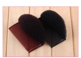 2019 jacaré clipes dentes atacado 1 Pc / lote Lady Volume Hair Base Insere Bata as Almofadas de Cabelo Vara Bun Criador de Cabelo Styling Clipe Trança Ferramenta