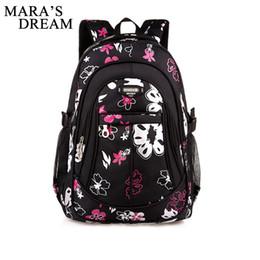 a560e5618a41 Mara's Dream Junior High School Рюкзаки для девочек Первичные детские сумки  Высококачественные школьные сумки большой емкости для детей Девочки скидка  ...