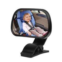 Wholesale Rear Child Seat - New Arrival Universal Car Back Rear Seat View Mirror For Baby Child Safety With Clip and Sucker Free shipping