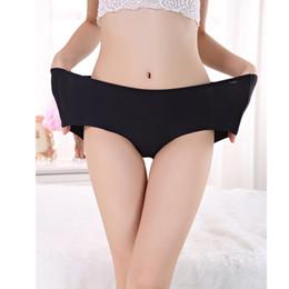 Wholesale women s red silk underwear - Sexy Ice Silk Ultra-Thin Underwear Women Seamless Panties Wholesale Comfort Briefs High Quality