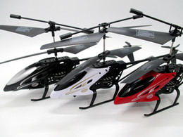 Wholesale helicopter wholesale - Anti-impact RC Helicopter 2 Channel Remote Control Helicopte Boys Birthday Christmas Toy 3 colors free shipping
