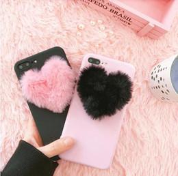 Giappone Corea 3D amore peluche custodia super morbida per iPhone 5 5s 6 6s 7 8 plus 10 X cover per Samsung Galaxy S6 S7 edge S8 nota 8 da