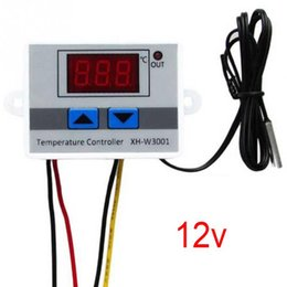 digital temperature controller thermocouple Coupons - XH-W3001-1 12V Aquariums Digital LCD Display Temperature Controller Microcomputer Thermal Regulator Thermocouple Acuarios Regulador Termico