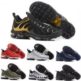 nike TN plus air max airmax 2018 Barato TN Zapatillas de running para  Hombres Mujeres niños Negro Rojo Blanco TN Ultra KPU Cojín zapatillas de  deporte de ... 2a0fb698849bc