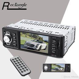 auto armaturenbrett tvs Rabatt 4016C 4,1 Zoll Embedded 1 Din Auto MP5 Player Navigation MP3 Video Audio FM Radio Fernbedienung Unterstützung USB SD AUX Auto Styling Für Autos + B