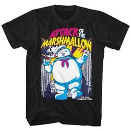 The Real Ghost Busters TV animada Ataque de The Marshmallow Camiseta para  adultos Ropa de hombre Camisetas Manga corta Camisetas para hombre Hombres  Hot ... df1535d3f7f92