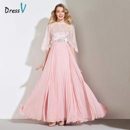 Оптовая розовый линия Половина рукава мать невеста платье кружева длина верхнего этажа шелковое платье пользовательские свадьба элегантный мать платье от