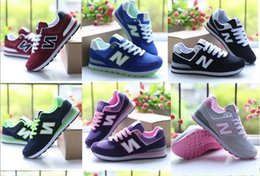 Wholesale Mint Drop - HI Drop Shipping N Leather Size 35-44 men and women lace-up Casual Shoes Couples sneakers N shoes More colors
