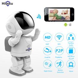 2019 hochwertige ip-kamera HD 960P Wi-Fi-IP-Kamera Wireless Tag Nachtsicht-Kamera High Quality Netzwerk Startseite CCTV WIFI P2P CAM360 APP 1.3MP Hiseeu günstig hochwertige ip-kamera