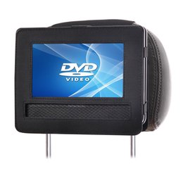 Wholesale portable dvd player cars - TFY Car Headrest Mount for Swivel & Flip Style Portable DVD Player - 9 Inch(Not include the dvd player)