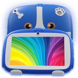 pc-systeme Rabatt 7 Zoll Neue Kinder lernen Tablet PC Android System Quad Core Installiert Beste geschenke für Kinder Tabletten PC