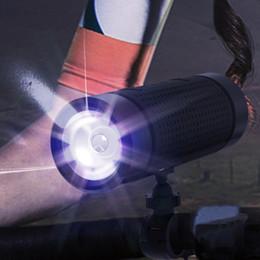 Haut-parleur portatif extérieur de la puissance 5200mah de lampe-torche portative de Bluetooth de haut-parleur imperméable multifonctionnel avec la lumière menée et le bâti de vélo et le mousqueton ? partir de fabricateur