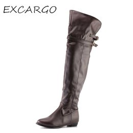 ce562e67a7a9 elastic wedge knee boots Australia - Korean Women  39 s Over The Knee Boots