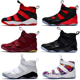 46841ad38f2fd High Quality New Limited Edition Designer Soldiers 11 Mens Basketball Shoes  Men Chameleon XI Soldier 11s Sports Training Sneakers limited basketball  shoes ...