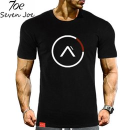 seven shirt Promo Codes - Seven Joe gyms t shirt Fitness Bodybuilding Crossfit Slim fit Cotton Shirts Short Sleeve Men fashion Tight Tees Tops clothing