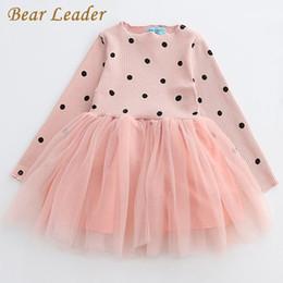 Wholesale Leaders Clothing - Bear Leader Girls Dress Princess Dress 2018 New Brand Girls Dress Children Clothing European And American Style Girls Dresses