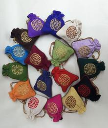 moneta da vento Sconti Vento cinese mix colori sacchetto della moneta sacchetto ispessimento iuta sacchetti regalo per gioielli sacchetto del sacchetto del cotone cinese sacchetti di imballaggio all'ingrosso