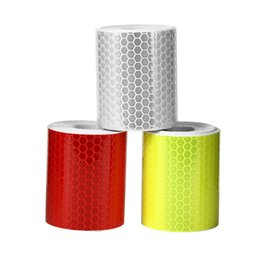 """Wholesale Tape Cycling - 1PC New 2""""X10' 5cm*300cm Reflective Car Styling Colorful Reflective Tape Stickers For Automobiles Car Truck Motorcycle Cycling"""