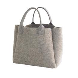 461810753aa04 2019 graue handtaschen New Fashion Filz Shopper