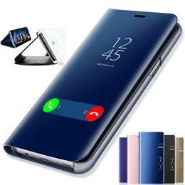 Clear View Smart Mirror Phone Case para Samsung Galaxy S9 S8 S7 S6 Edge Plus para Note 8 5 para A3 A5 A7 A8 2017 2018 desde fabricantes