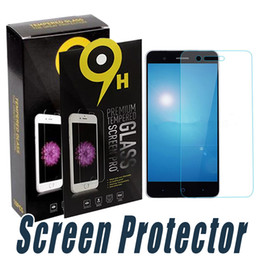 Wholesale Screen L5 - Anti Shatter Tempered Glass Screen Protector 9H 2.5D Screen Protector Film For ZTE Axon Secret Mini 7 Z11 Z11 Mini L5 Zmax Z9130