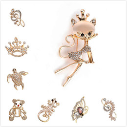 2021 broche do pino da nota da música Animal Broche de Strass Completo casamento Pins Borboleta Urso Tartaruga Coroa Lizard notas musicais broches e pin cat broche badge