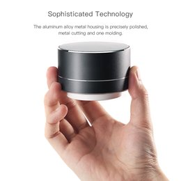 mini metal mp3 player Promo Codes - Mini Wireless Bluetooth Speaker Portable Subwoof Speaker Handsfree Music Audio TF USB FM Stereo Soundbox for iphone Xiaomi Samsung
