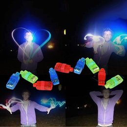 Argentina LED Dedos Juguetes Parpadeante Vigas de Anillos Artículos de Novedad Favores de Fiesta para Niños Regalos Promocionales Niños para Eventos Juguetes Iluminados 20 Lot Suministro
